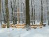 1: Andachtsplatz im Winter