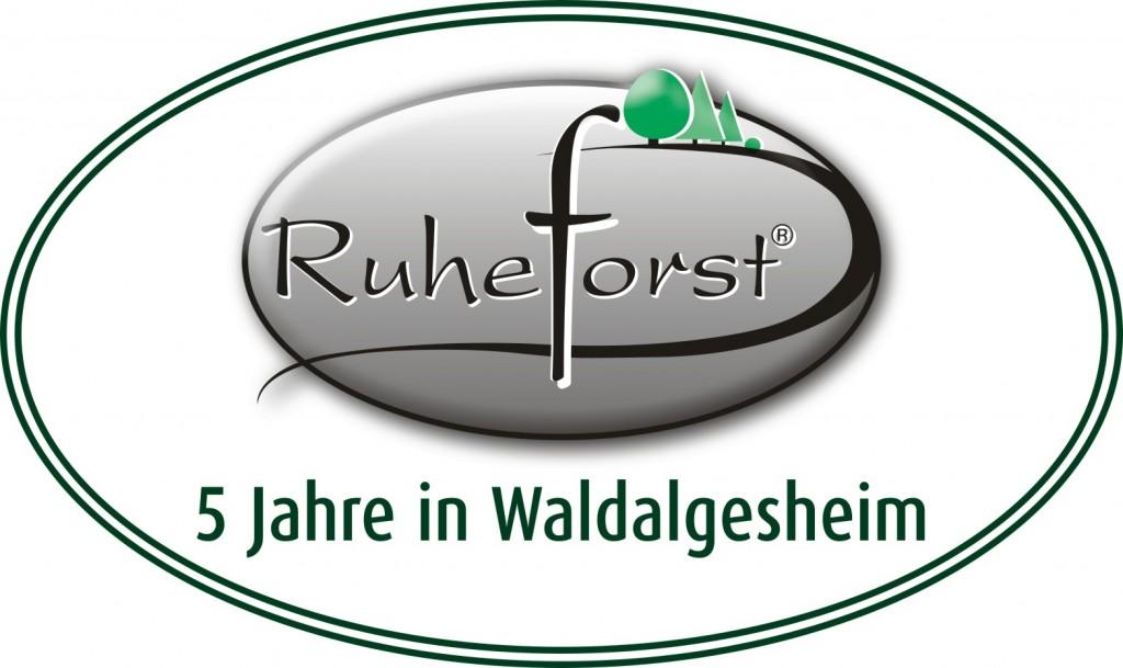 Der RuheForst Rheinhessen-Nahe wurde 2015 5 Jahre alt